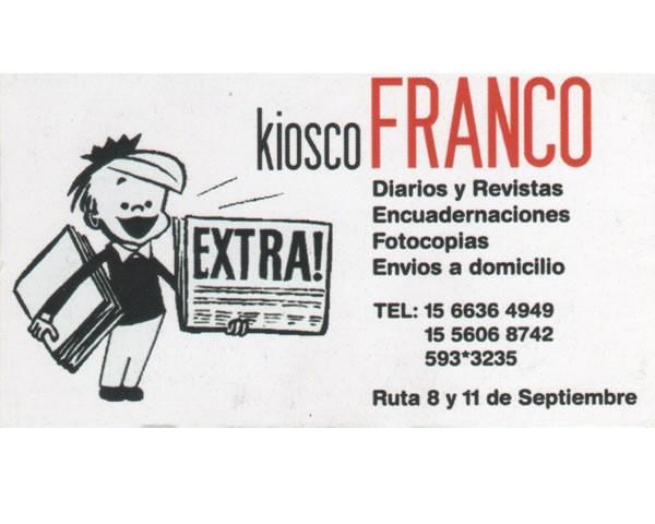 Kiosco FRANCO